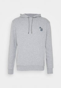 PS Paul Smith - ZEBRA SOPO HOODIE - Hoodie - grey - 4