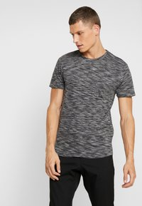 TOM TAILOR DENIM - NOS  - Basic T-shirt - black - 0