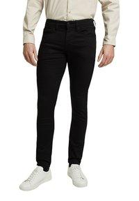 Esprit - Trousers - black rinse - 5