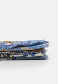 Codello - ANIMALS SIGNATURE HERRINGBONE - Foulard - jeans blue - 1