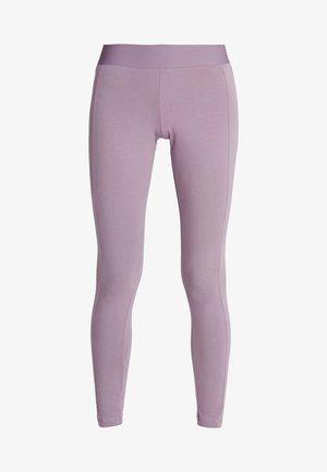 ESSENTIALS SPORT INSPIRED COTTON LEGGINGS - Tights - purple