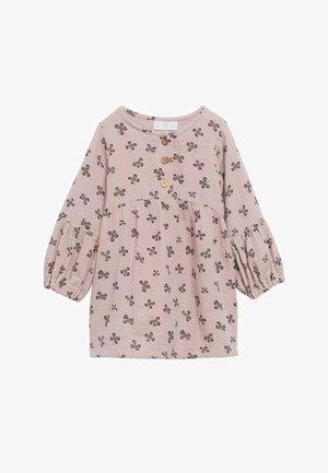 BEDRUKTE  - Shirt dress - roze