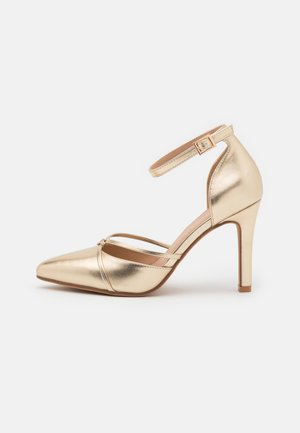 Zapatos altos - gold