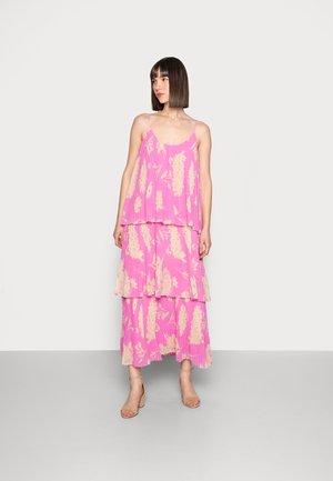 TATIANA DRESS - Maxi dress - pink kirigami