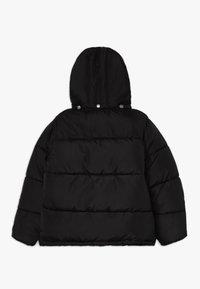 Blue Seven - STEHKRAGEN KAPUZE - Winter jacket - schwarz - 1