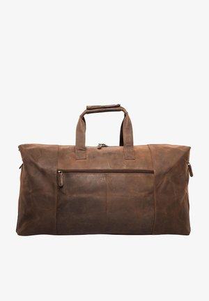 SYDNEY - Weekend bag - mottled brown