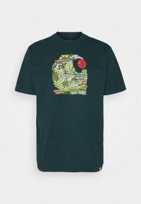 Carhartt WIP - TREASURE - Print T-shirt - deep lagoon - 4