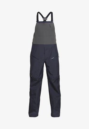 SNOWDRIFTER BIBS - Spodnie narciarskie - smolder blue