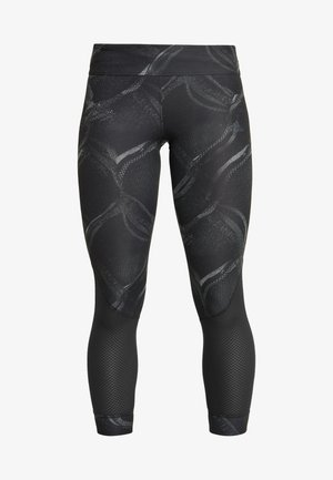 OWN THE RUN - Leggings - grey three/carbon/black