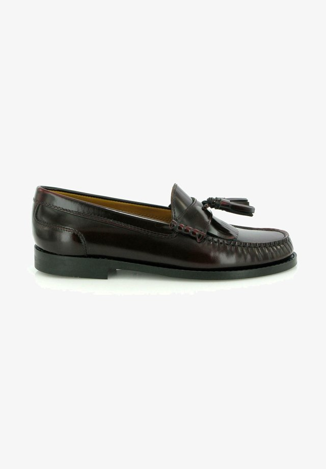 SARAH TASSEL LOAFERS - Mocassins - burgundy