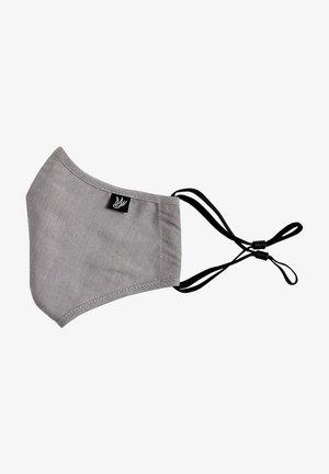 Stoffen mondkapje - blended light grey