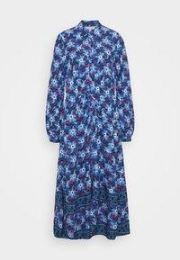 Marks & Spencer London - BOARDER SHIRTDRESS - Maxi-jurk - blue - 0