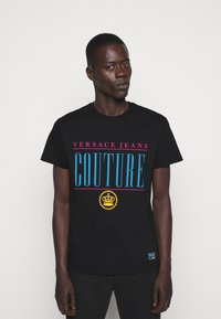 Versace Jeans Couture - MAN - Print T-shirt - nero - 0