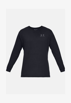 SPORTSTYLE LEFT CHEST - Funktionströja - black
