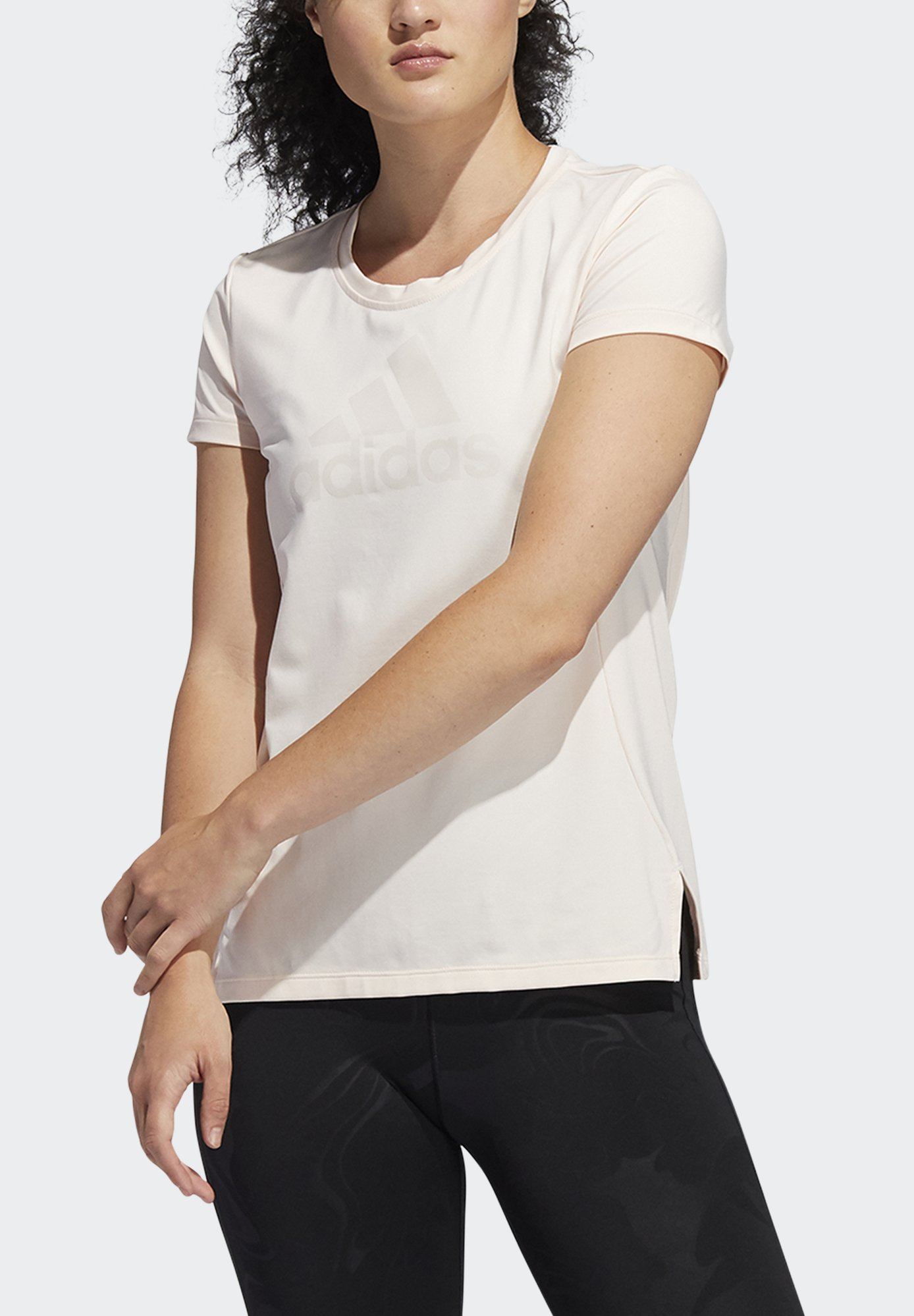 Damer GLAM ON BOS TEE - T-shirts basic