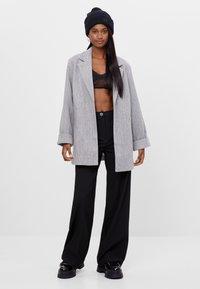 Bershka - Short coat - light grey - 1