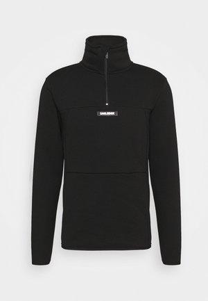 HALF ZIP BLAZE - Sweatshirt - schwarz