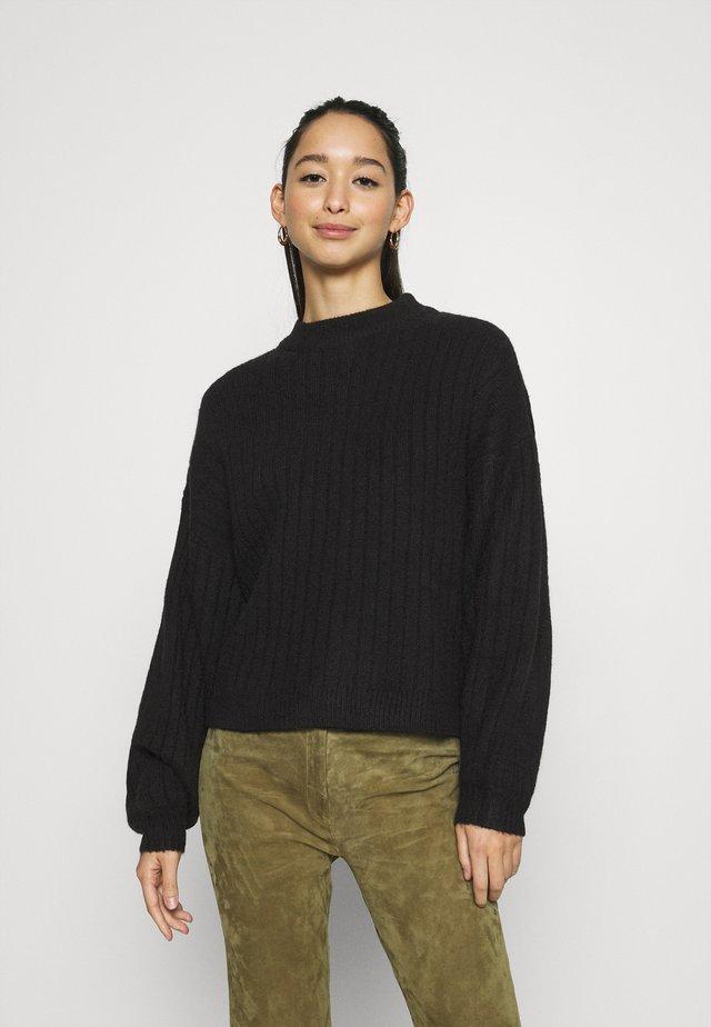 JUMPER - Sweter - schwarz