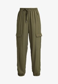 Cotton On - CERRIE DRAPEY UTILITY PANT - Kalhoty - olive night