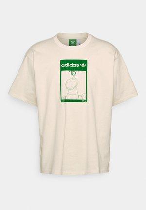 TEE REX UNISEX - T-shirt print - off-white