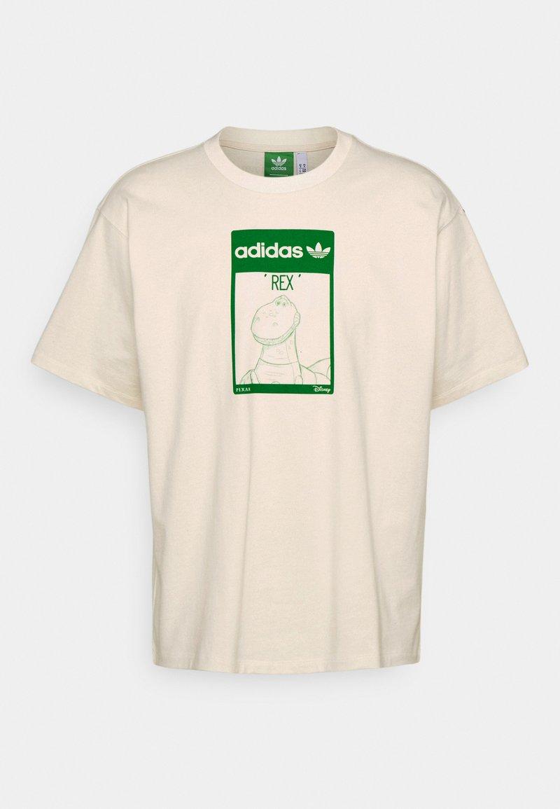 adidas Originals - TEE REX UNISEX - Print T-shirt - off-white
