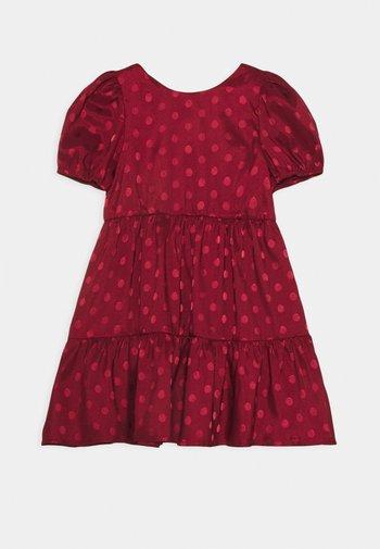 ZELLA DRESS - Robe de soirée - burgundy