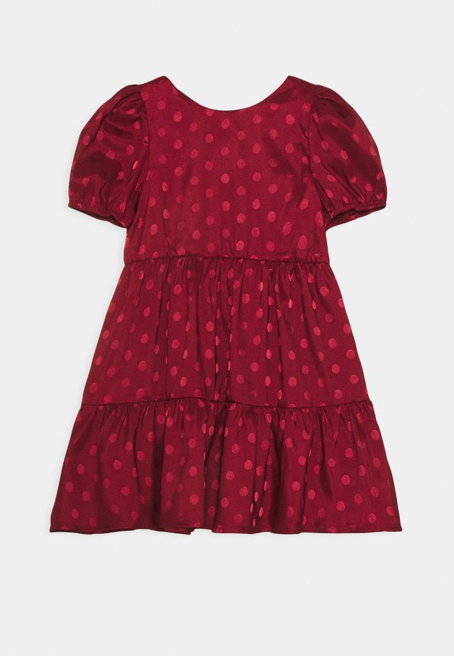 ZELLA DRESS - Cocktailklänning - burgundy