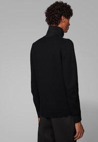BOSS - GALBERTO - Zip-up hoodie - black - 2