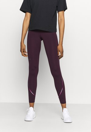 RUSH SCALLOP LEG  - Tights - polaris purple