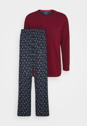 X-MAS O-NECK - Pyjamas - blue