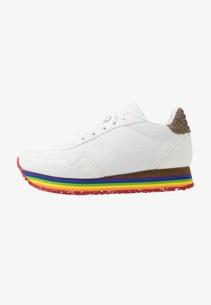 KATRINA TEEN PLATEAU - Trainers - bright white/rainbow