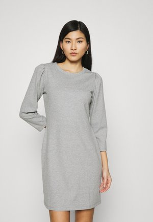 DRESS - Sukienka dzianinowa - heather grey