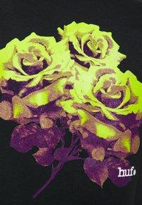 HUF - ROSE TEE - Print T-shirt - black - 2