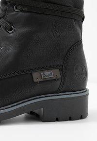 Rieker - Winter boots - schwarz/graphit - 2