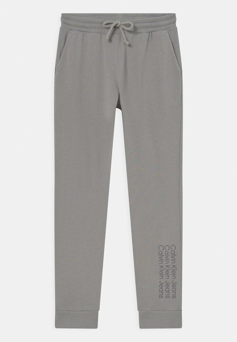 Calvin Klein Jeans - UNISEX - Verryttelyhousut - grey