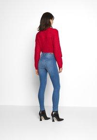 JDY - JDYNIKKI HIGH - Jeans Skinny Fit - light blue denim - 2