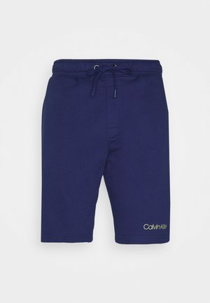 RAW EDGE LOUNGE SLEEP - Pyjama bottoms - blue