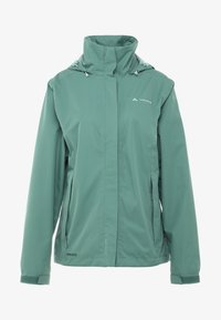 Vaude - WOMANS ESCAPE LIGHT JACKET - Waterproof jacket - nickel green - 7
