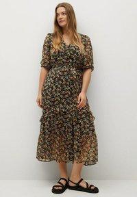 Violeta by Mango - GARDEN - Day dress - schwarz - 1