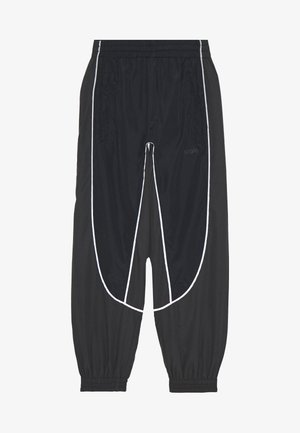 ARKUU - Tracksuit bottoms - black