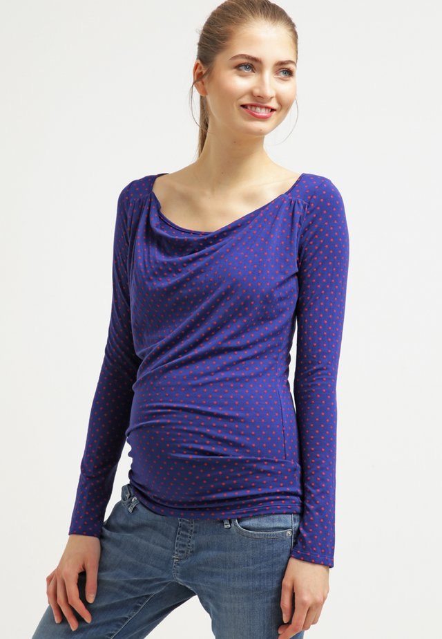 PRISCA - Long sleeved top - indigo