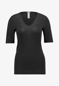 WOOLEN SILK  - Undershirt - black
