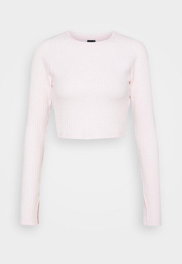 KINSLEY - Pitkähihainen paita - primrose pink