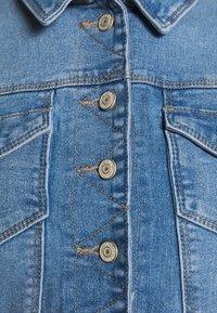 ONLY - ONLNEW WESTA CROPPED JACKET - Denim jacket - light blue denim - 7