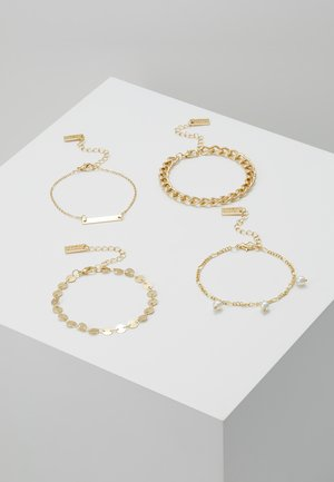 SET - Armbånd - gold-coloured
