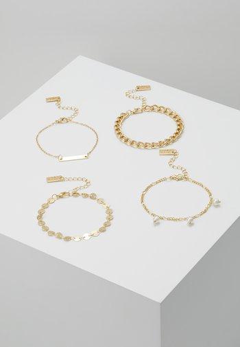 SET - Bracelet - gold-coloured