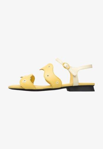 TWINS - Sandals - gelb