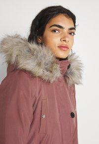 ONLY - ONLIRIS  - Zimní kabát - burlwood - 5