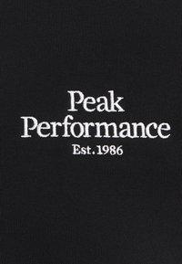 Peak Performance - ORIGINAL ZIP JACKET - Zip-up hoodie - black - 2