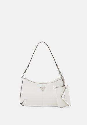 LAYLA TOP ZIP SHOULDER SET - Handbag - white